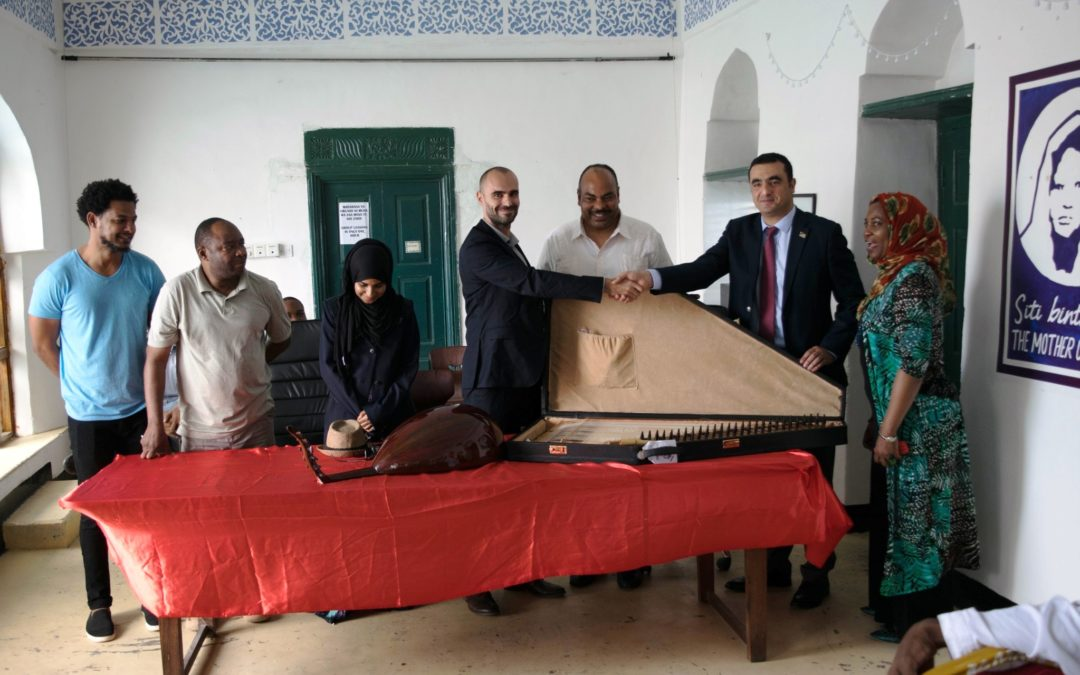 Donation from Embassy of the State of Palestine