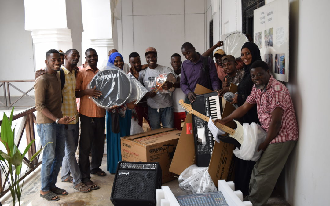 DCMA receives donations from the Embassy of Germany & Goethe-Institut Tanzania
