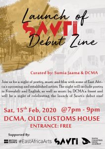 Launch of Sawti Debut Zine @ Dhow Countries Music Academy